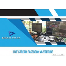 Live Stream Facebook và Youtube