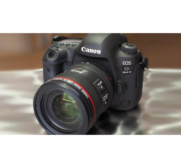 Máy ảnh, máy quay Canon 5D Mark IV - 4K