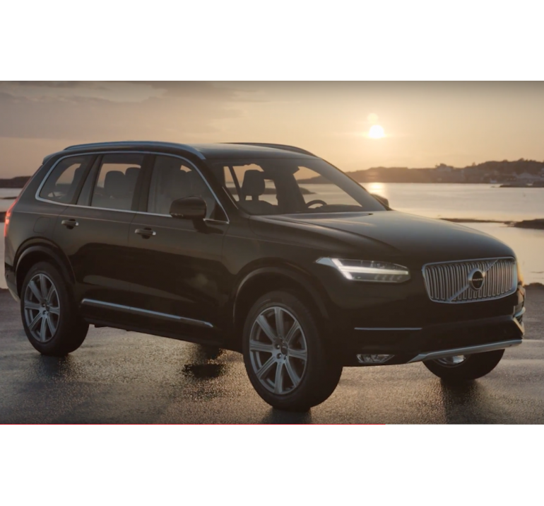 Dựng phim theo yêu cầu khách hàng : Giới thiệu dòng xe oto mới của Volvo Thuỵ Điển